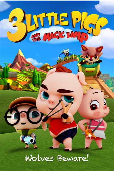 3 Little Pigs And The Magic Lamp 2016
